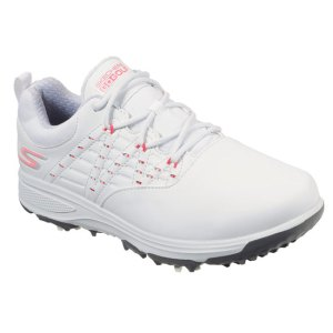 Skechers 2020 Ladies GO GOLF PRO 2 Golf shoes - White/Pink