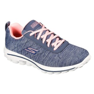 Skechers 2020 Ladies GOLF WALK SPORT Golf shoes - Grey/Pink