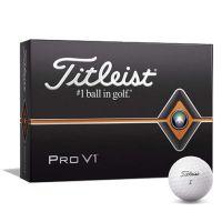 Titleist Pro V1 White Golf Balls Dozen Pack - 2020