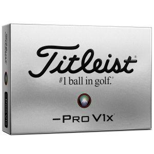 Titleist Pro V1X Left Dash Golf Balls