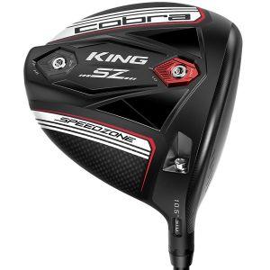 Cobra KING Speedzone Golf Driver Matte Black/White
