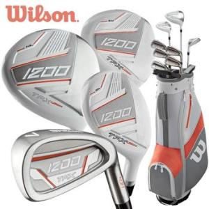Wilson 1200 TPX Ladies Package Set - Graphite