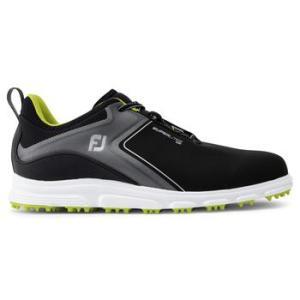 FootJoy Mens Superlites XP 2020 Golf Shoes - Black/Lime
