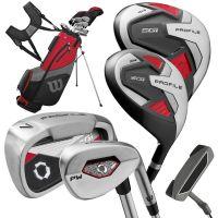 Wilson Profile SGI Golf Package Set Graphite/Steel - Mens
