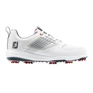 FootJoy Mens Fury Golf Shoes 2020 - White/Red