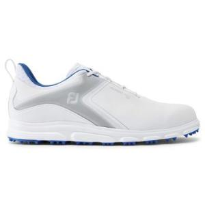 FootJoy Mens Superlites XP 2021 Golf Shoes - White/Grey