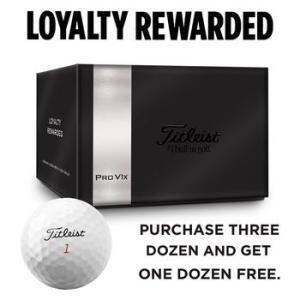 Titleist Pro V1x 4 for 3 Golf Ball Offer
