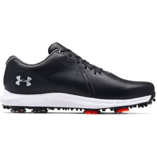 Under Armour Charged Draw RST Wide E Golf Shoes - Black