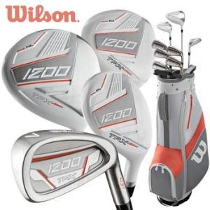 Wilson 1200 TPX Ladies Package Set - Graphite