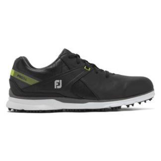 FootJoy Mens Pro SL 2020 Golf Shoe - Black/Lime