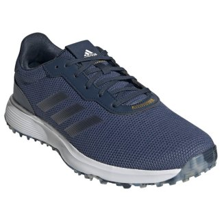 adidas 2021 S2G SL Golf Shoes - Blue/Navy/Yellow