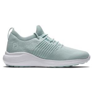 FootJoy Womens Flex XP 2021 Spikeless Golf Shoes - Mint