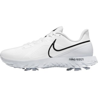 Nike React Infinity Pro Golf Shoes - White/Black/Platinum