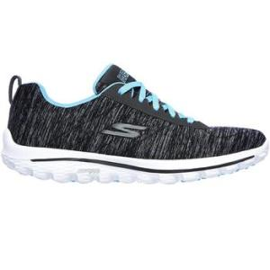 Skechers Ladies Go Walk Golf Shoes - Black/Blue