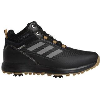 adidas 2021 S2G Mid-Cut Golf Shoes - black/grey four/mesa