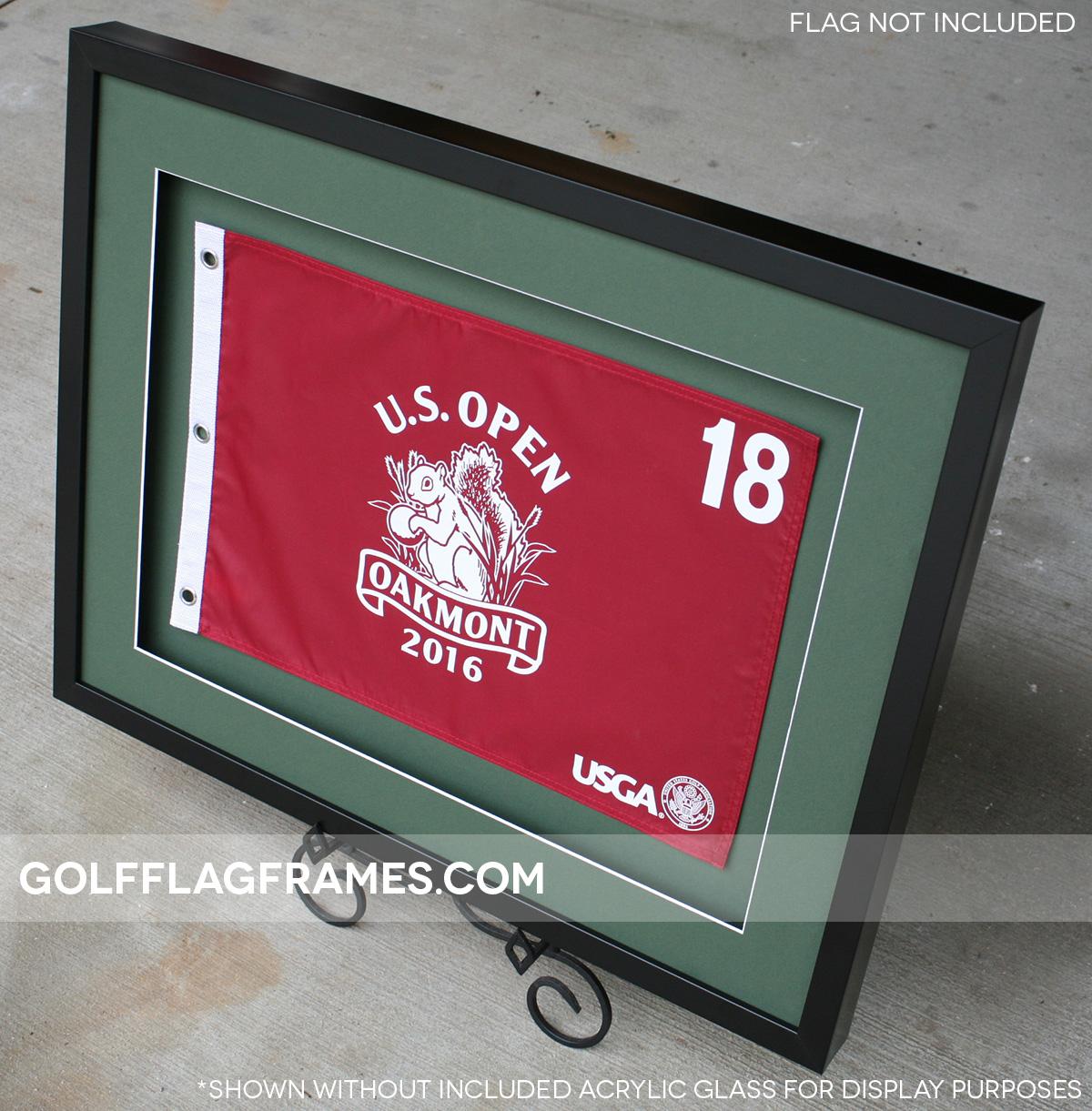 Custom Size Black Flag Frame Moulding Blk 004 Shadowbox