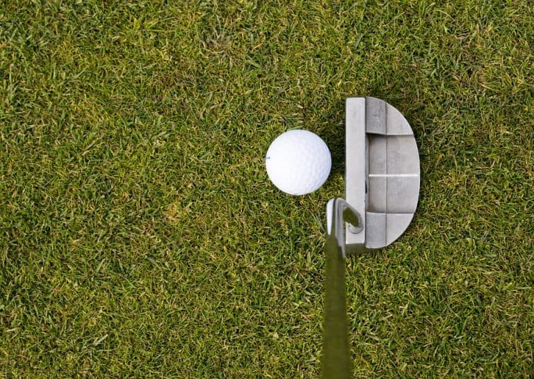 best putting target with ball return