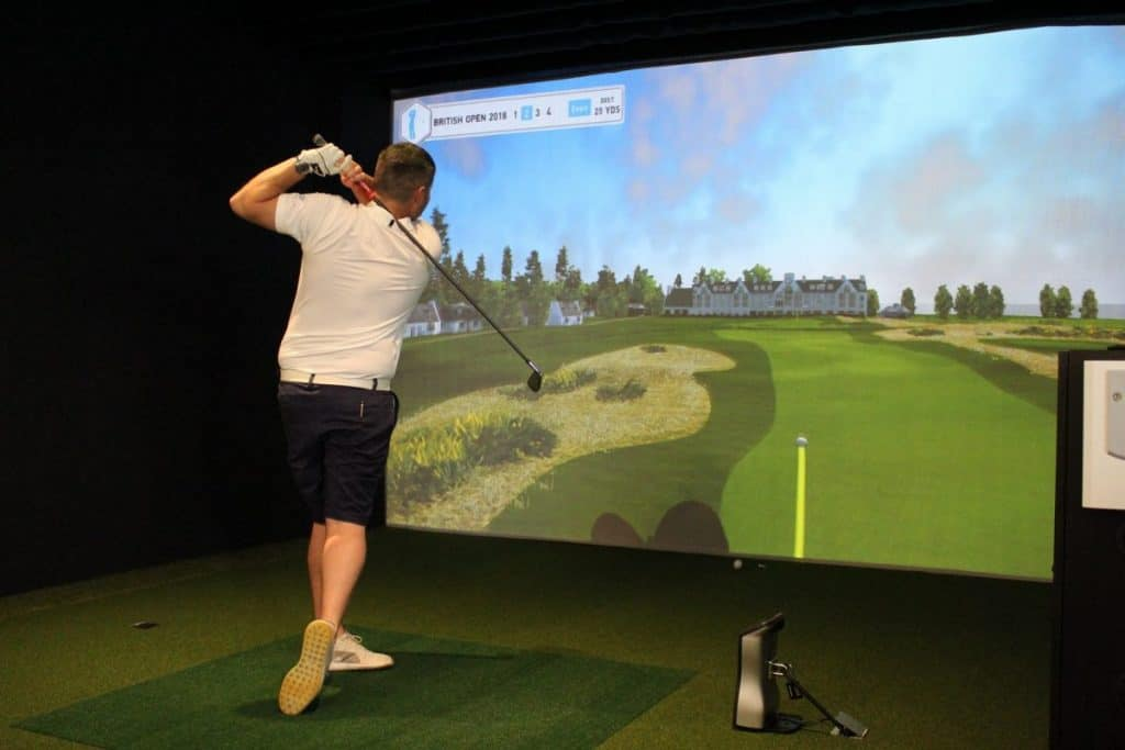Golf Simulator Space Requirements and Room Design for your Best Setup