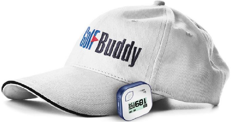 golfbuddy voice 2 clip on hat
