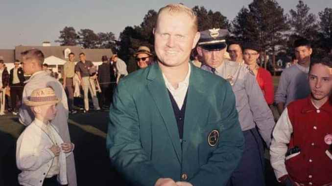 1963 Masters: Jack Nicklaus wins his first of a record six Green ...