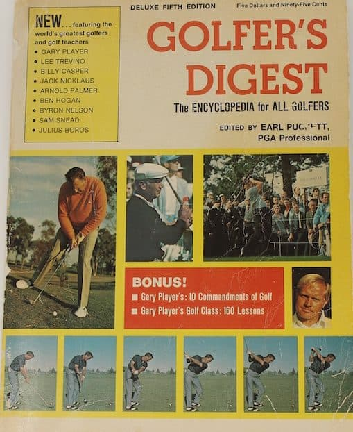 """RARE 1972 DELUXE FIFTH EDITION OF """"GOLFER"""