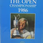 The Open Championship 1986 – British Open Golf Official Annual of British Open Golf