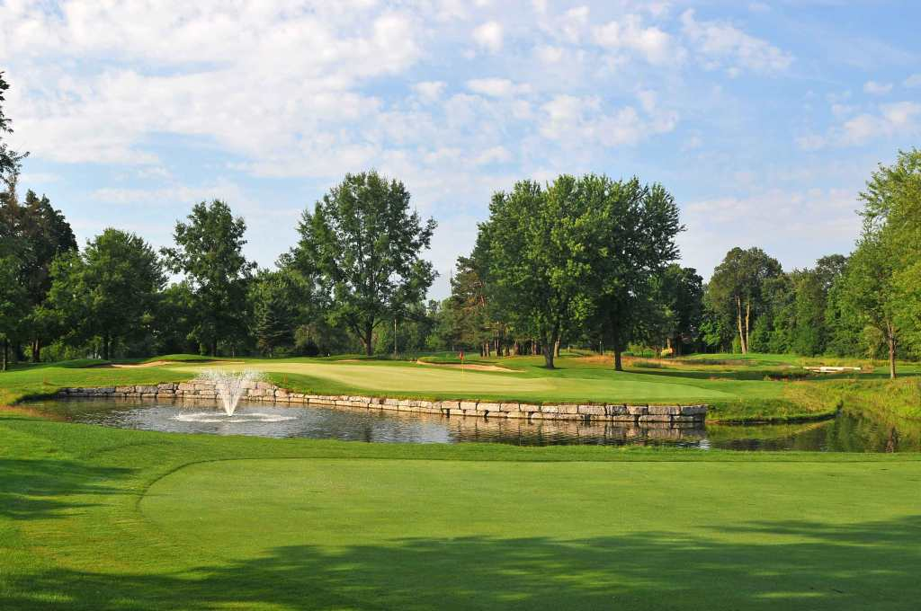 A panoramic view of Rivermead Golf Course Ottawa, Canada...by kind permission of Rivermead Golf Club