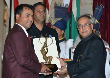 Image result for Arjuna Award picture