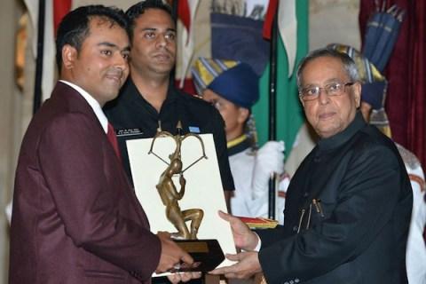 Anirban Lahiri gets his Arjuna Award