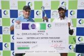 Chikkarangappa defends his CG Open title in style