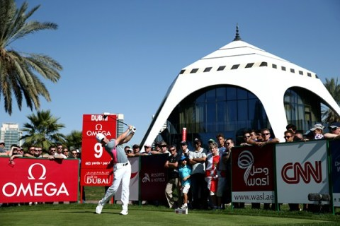 Rory McIlroy in command at the Dubai Desert Classic