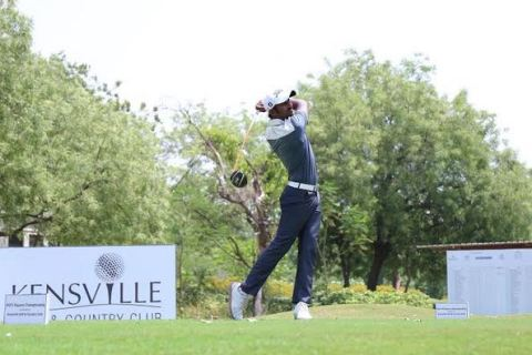 Chikkarangappa retains a three shot lead going into the final round at Kensville