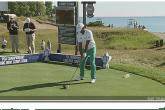Anirban Lahiri wins the PGA Championship's Long Drive competition