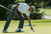Obama and golf seem inseparable companions