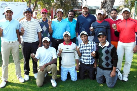 Several PGTI rookies each year come through the ranks as caddy turned professionals
