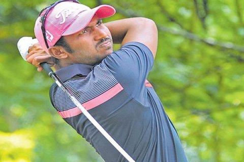 Chikkarangappa shot 71 in the first round with Panuwat Muenlek firing 65