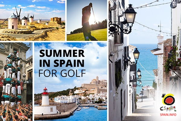 There are plenty of beautiful places for golf in Spain