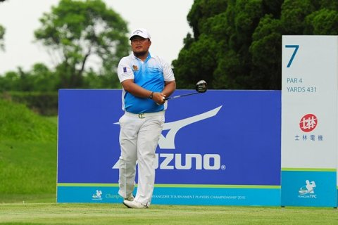 Namchok Tantipokhakul lead Round 1 at Yengder TPC - Image source Asian Tour