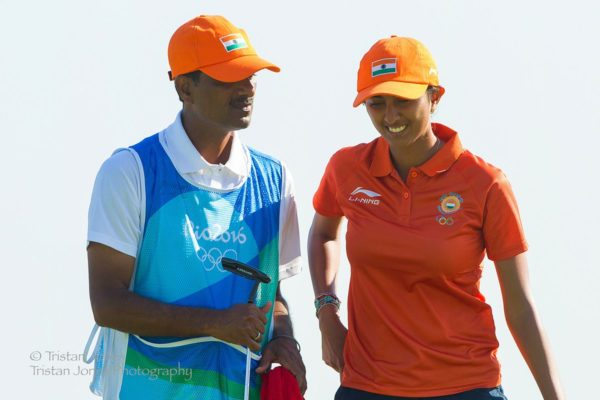 Aditi Ashok shot a blemishless 68 in the first round of the Rio Olympics. The 18 year old showed no stage fright as he played a composed round of golf.