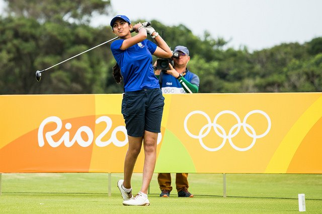 Aditi Ashok finished her Olympic campaign in T52