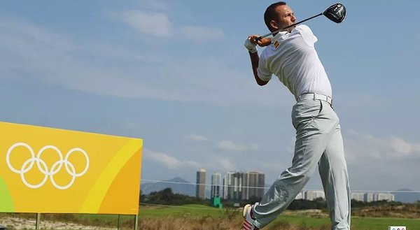 Sergio Garcia has one goal in Rio and that's to win a gold medal