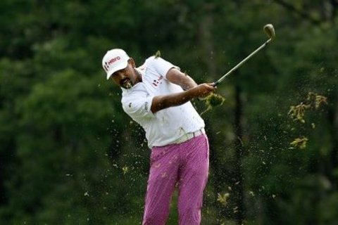 ANirban Lahiri in Rd 3 at CIMB Classic
