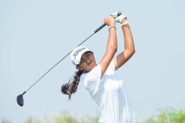 Aditi Ashok shot 69 in the first round of FBM Ladies Open