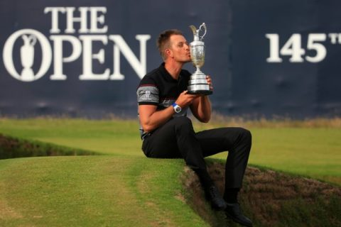 Henrik Stenson Open Champion