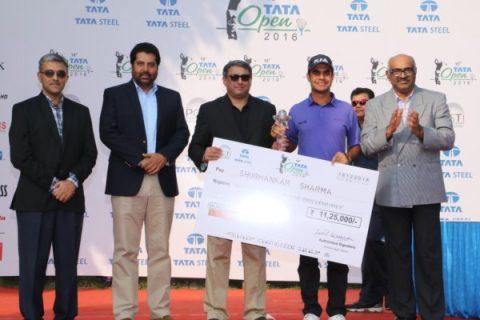 Shubhankar Sharma wins 15th-tata-open