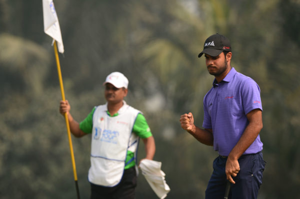 Shubhankar Sharma shot one over 72 in the third round