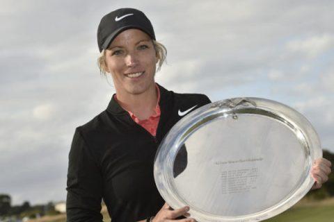 Melissa Reid wins Oates VIC Open