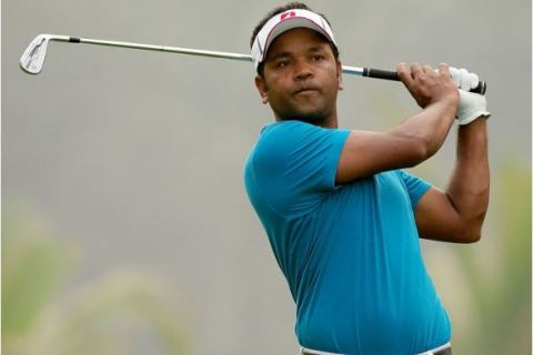 Siddikur Rahman of Bangladesh leading Round 3 with seven shots