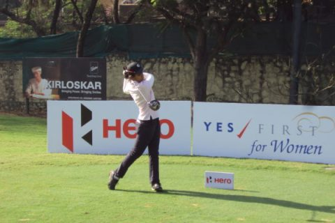 Vani Kapoor leading round 1 at 6th Leg of Hero Women's
