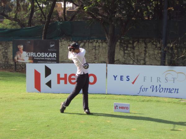 Vani Kapoor leading round 1 at 6th Leg of Hero Women's